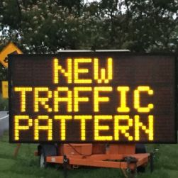 Traffic Will No Longer Be Able To Continue West On Route 30 Beyond 41 Need Take The New Bypass Through Gap Accross